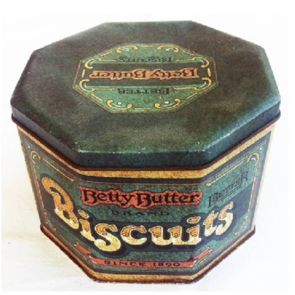 English Biscuits Canister