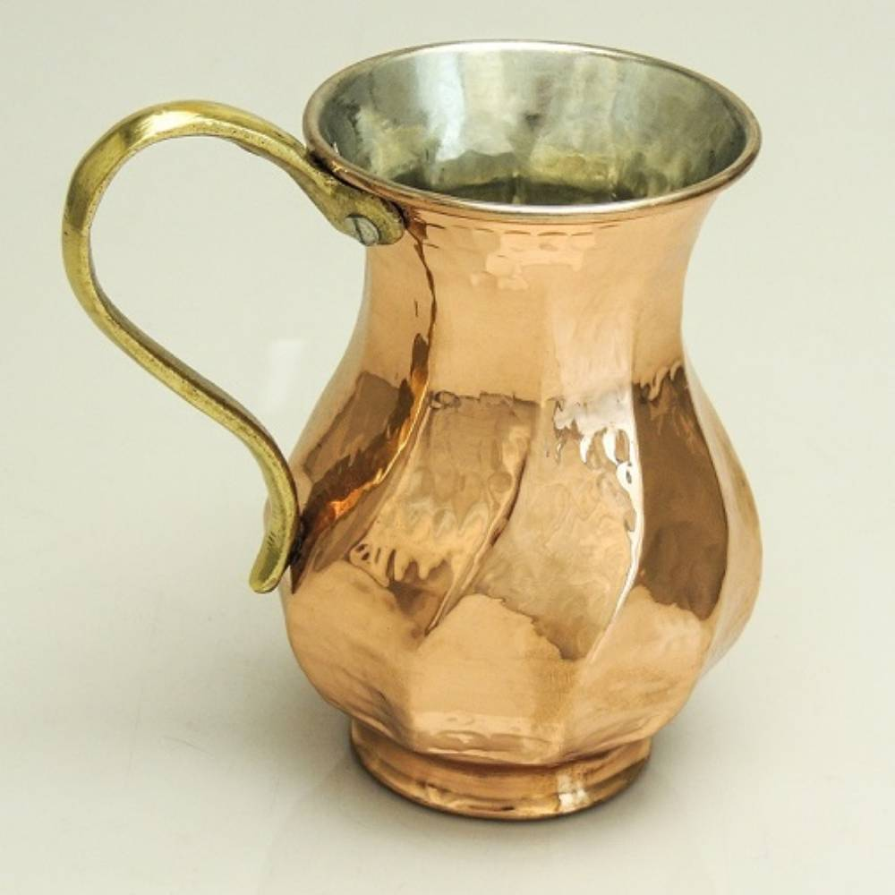 Copper Champleve Glass