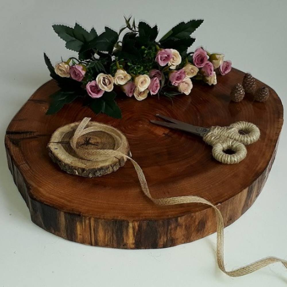 Wooden Wedding Ceremony Tray K2027