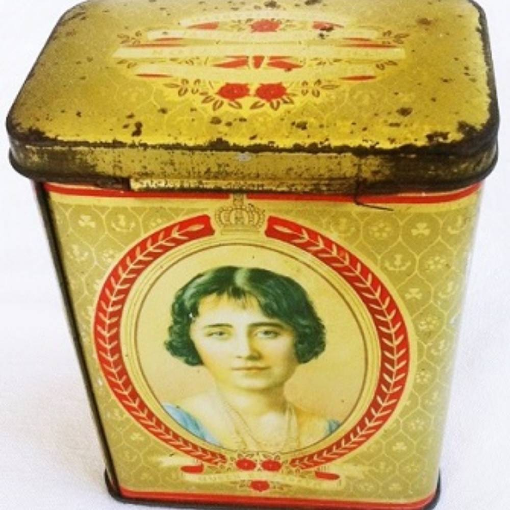 Canister Royalty of UK 1937