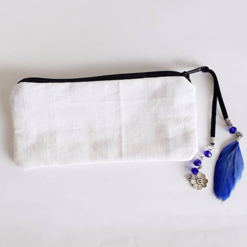Makeup Bag with Goodluck Holder